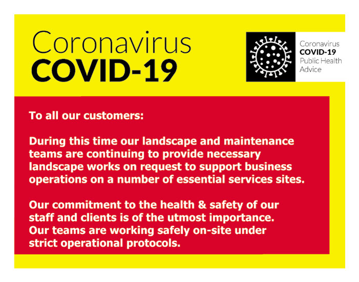 COVID-19 Notice | Shaffrey Landscaping